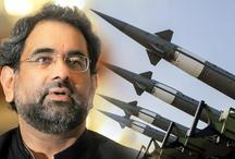 भारत से निपटने के लिए बनाए हैं कम दूरी के परमाणु हथियार: पाक पीएम अब्बासी