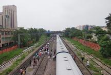 6 घंटे के अंदर दूसरा रेल हादसा, पटरी से उतरी राजधानी एक्सप्रेस