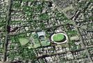 'इसरो' की सैटेलाइट ने भेजी पहली तस्वीर, दिखा इंदौर क्रिकेट स्टेडियम