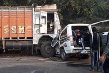 दुमका में दर्दनाक सड़क हादसा, 8 लोगों की मौत- दो की हालत गंभीर
