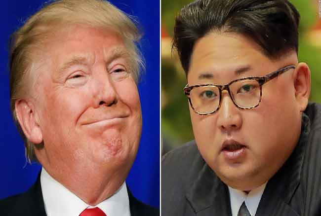 किम जोंग से मिलना चाहते हैं ट्रंप, परमाणु कार्यक्रम विवाद को रोकने के लिए करेंगे बात