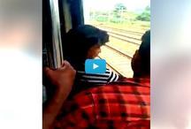 गजब: लोकल ट्रेन में यात्री बने सुपरमैन, ऐसे बचाया लड़की को, वीडियो वायरल