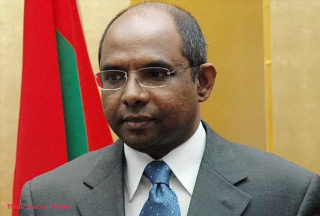 चार दिवसीय भारत के दौरे पर मालदीव के विदेश मंत्री, सुषमा स्वराज से करेंगे मुलाकात