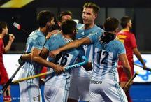 Hockey World Cup : ओलंपिक चैंपियन अर्जेन्टीना ने स्पेन को 4-3 से हराया
