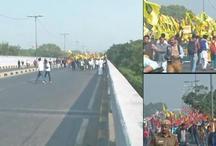 किसान मार्च / इन मांगों को लेकर किसानों ने की 25 किलोमीटर की पदयात्रा
