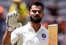 विराट कोहली ने जड़ा 25वां टेस्ट शतक, सचिन-सुनील गावस्कर को पीछे छोड़ा
