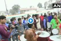चुनाव नतीजे / कांग्रेस के 'अच्छे दिन की आहट' पर कार्यकर्ता जश्न में डूबे, देखें वीडियो