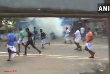 सबरीमाला विवाद / भाजपा कार्यकर्ताओं ने सीएम के निवास का किया घेरा, पुलिस ने दागे आंसू गैस के गोले