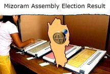 Mizoram Election Results / कड़ी सुरक्षा के बीच 13 केंद्रों पर मतगणना जारी