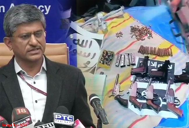 NIA का बड़ा खुलासा : दिल्ली-यूपी में 17 जगह छापे, 7.5 लाख कैश, 100 मोबाइल और 135 सिम कार्ड बरामद