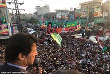 पाकिस्तान: नवाज शरीफ और ख्वाजा मोहम्मद के बाद इमरान खान पर फेंका जूता