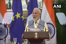 भारत और फ्रांस के क बीच शिक्षा, रक्षा, अंतरिक्ष को लेकर 14 समझौतों पर हुए हस्ताक्षर