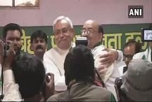 नरेंद्र सिंह ने बिहार के मुख्यमंत्री नीतीश कुमार की मौजूदगी में JDU में हुए शामिल, 'हम' का हुआ विलय