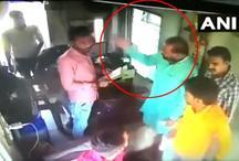 Video: भाजपा विधायक ने की दिनदहाड़े गुंडागर्दी, टोल मांगने पर कर्मचारी से की मारपीट
