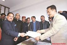 हिमाचल से राज्यसभा के लिए निर्विरोध चुने गय जेपी नड्डा