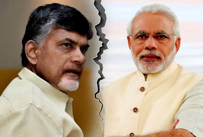 Image result for chandrababu Vs Modi
