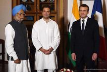 राष्ट्रपति मैंक्रों से कांग्रेस अध्यक्ष राहुल की मुलाकात, लोकतंत्र से जुड़े मुद्दों पर हुई चर्चा