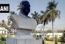 पेरियार के बाद अब श्यामा प्रसाद मुखर्जी की मूर्ति तोड़ी, पोस्टर पर लिखा- लेनिन की मूर्ति तोड़ने का बदला