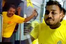 IPL में ऐसी दीवानगी देखी क्या, CSK के फैन्स ने पूरी ट्रेन बुक कर किया ऐसा, देखें VIDEO