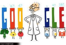 Google ने बनाया एसपीएल सोरेनसन पर गेमिंग Doodle, चीजों में लेवल नापने के लिए किया था pH स्केल का आविष्कार