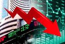 शेयर बाजार में फिर आई गिरावट, सेंसेक्स 61 अंक नीचे गिरा