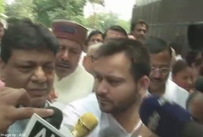 RJD बिहार विधानसभा में सबसे बड़ी पार्टी है, हमें सरकार बनाने का मौका मिले: तेजस्वी यादव