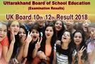 UK Board Result 2018: उत्तराखंड बोर्ड ने 10वीं और 12वीं का रिजल्ट किया जारी, लड़कियों ने किया टॅाप,10वीं में 74.57% छात्र हुए पास