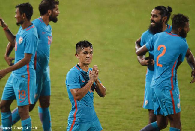 कप्तान सुनील छेत्री ने की मेस्सी की बराबरी, भारत बना चैंपियन