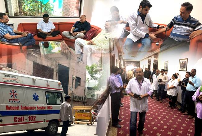 LG हाउस में 5 दिनों से केजरीवाल सरकार का धरना जारी, सत्येंद्र जैन और सिसोदिया हो सकते हैं अस्पताल में भर्ती