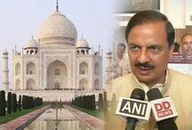 ताजमहल के ढांचे को कोई खतरा नहीं, ना ही रंग में हुआ बदलाव: महेश शर्मा