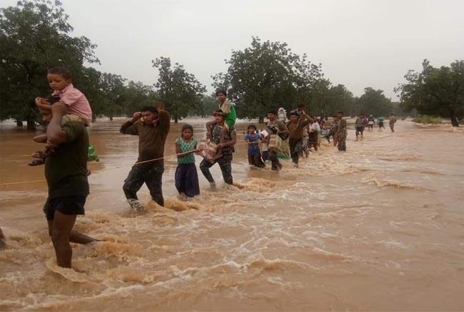 कोंटा में एक बार फिर से बाढ़ की आशंका, शबरी गोदावरी में बढ़ा जलस्तर
