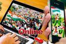 भारत की आजादी का आॅनलाइन का जश्न