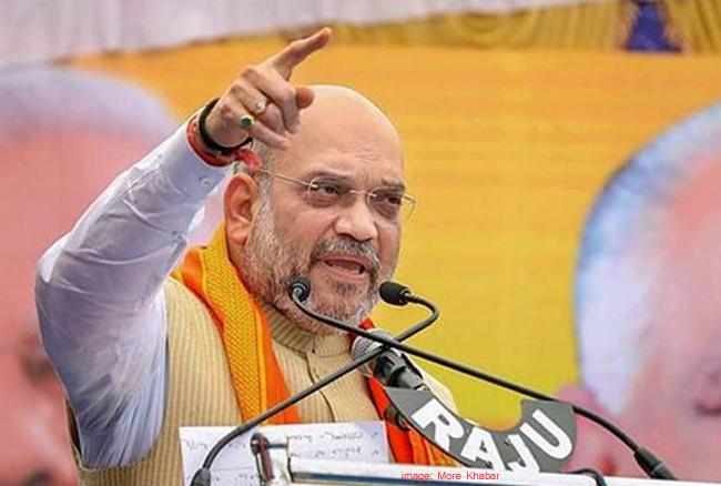 तेलंगाना चुनाव: अमित शाह ने हैदराबाद से भरी चुनावी हुंकार, KCR पर जमकर साधा निशाना