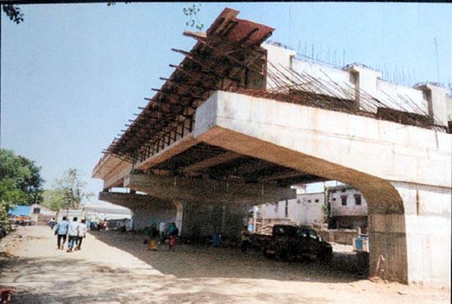 रायपुर : फाफाडीह-तेलीबांधा-नया रायपुर एक्सप्रेस-वे निर्माण तेजी से राजेश मूणत
