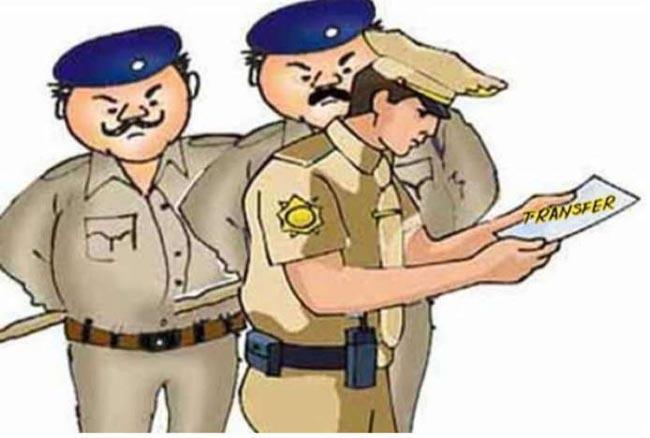 पुलिस महकमे में बंपर तबादले, 63 प्रधान आरक्षक और आरक्षकों के प्रभार में किया गया फेरबदल