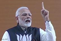 Lok Sabha Elecions 2019 : पीएम मोदी बोले - अन्न दाता को कांग्रेस ने सिर्फ मतदाता बनाया, हमने उन्हें ऊर्जादाता बनाया