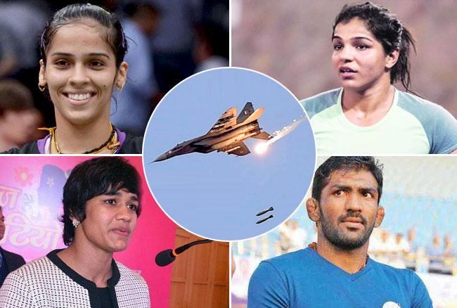 Surgical Strike 2: साइना, साक्षी, बबीता ने सेना को किया सलाम, योगेश्वर ने कहा- अब उनकी जिंदगी नहीं बचेगी...