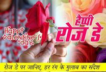 Happy Valentine Day 2019 / Happy Rose Day Images : रोज डे पर जानिए, किस रंग के गुलाब का क्या है मतलब