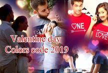 Valentine Day Colors Code 2019 : वैलेंटाइन डे पार्टनर के साथ मैच करें इन रंगों की ड्रेसेस, पाएं स्टाइलिश लुक