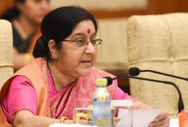 विदेश मंत्री सुषमा स्वराज ने माइक पोम्पियो से की बात, पाक पर हवाई हमलों की दी जानकारी