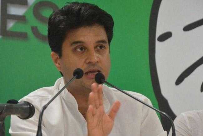 उत्तर प्रदेश में अपने दम पर चुनाव लड़ेगी कांग्रेसः सिंधिया