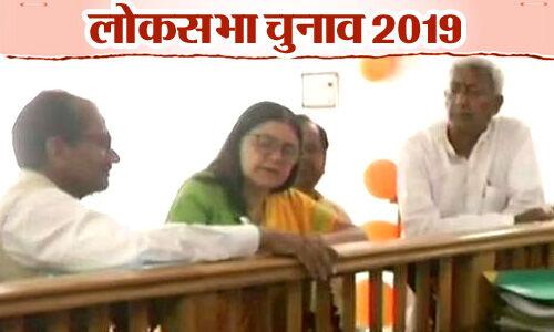 Lok Sabha Elections 2019: मेनका गांधी ने सुल्तानपुर सीट से दाखिल किया नामांकन पत्र
