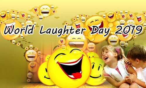 World Laughter Day 2019 :