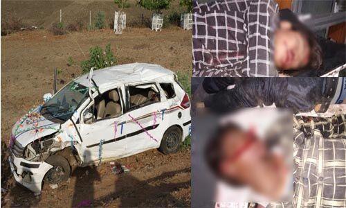 तेज रफ्तार बेकाबू कार पेड़ से जा टकराई, तीन युवकों की मौके पर ही मौत, तीन की हालत नाजुक