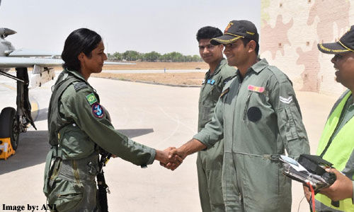 भावना कांत ने बनाया नया कीर्तिमान, लड़ाकू विमान मिग-21 बाइसन का सफलतापूर्वक किया संचालन