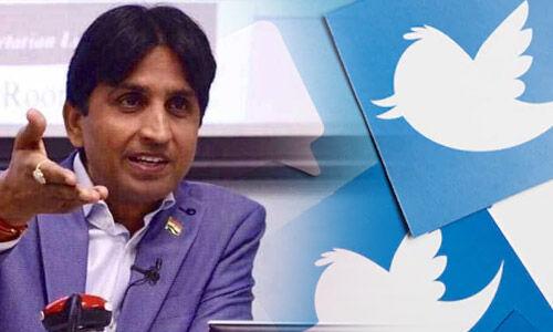 पाकिस्तानी मंत्री ने लिखा चरमपंथी मोदी की दिल्ली में हार से खुश, कुमार विश्वास ने कहा पाकिस्तानी चूजा कुदक रहा है।