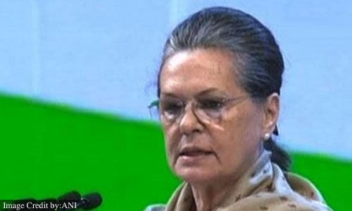 Sonia Gandhi wrote a letter to CM Bhupesh Baghel