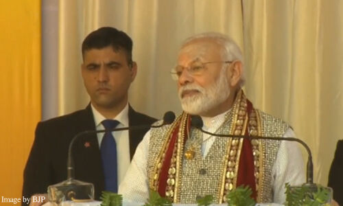 Prime Minister Narendra Modi launch over 30 projects in Varanasi today live update