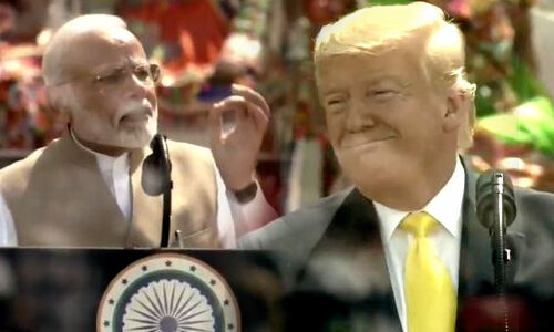 Donald Trump visit Ahmedabad Agra Delhi with family today live updates