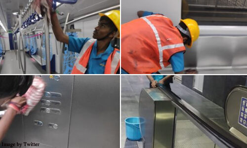 Coronavirus metro rail management continuous cleanliness across country